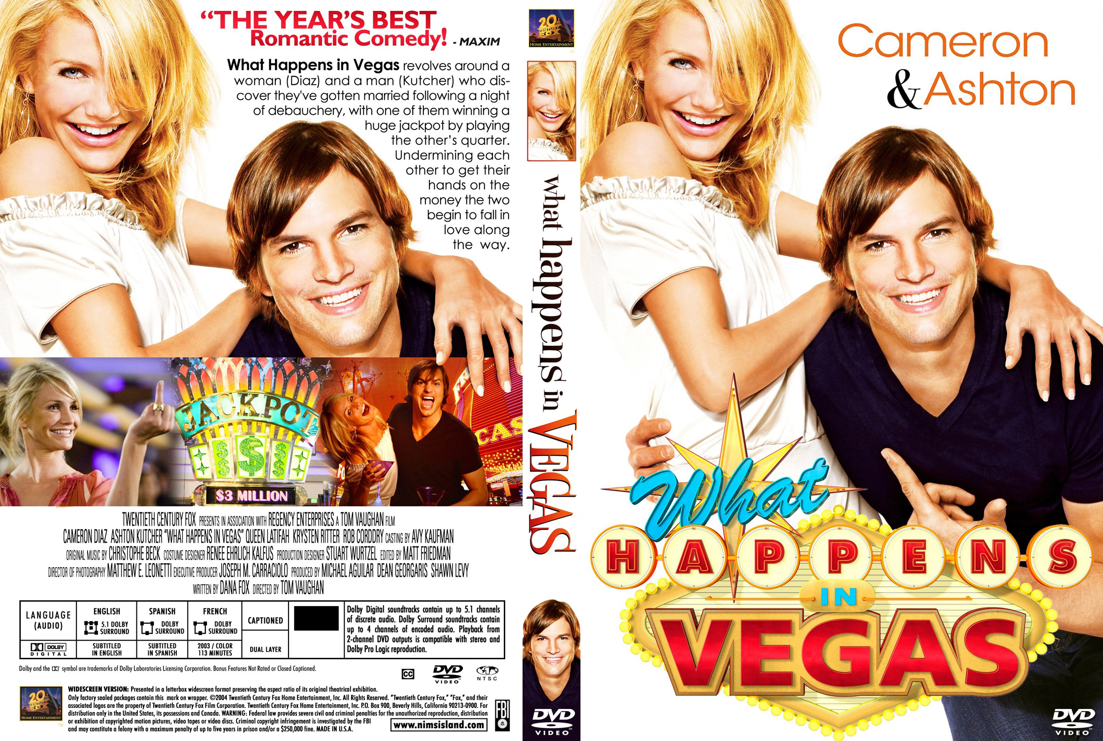 کاور فیلم What Happens in Vegas