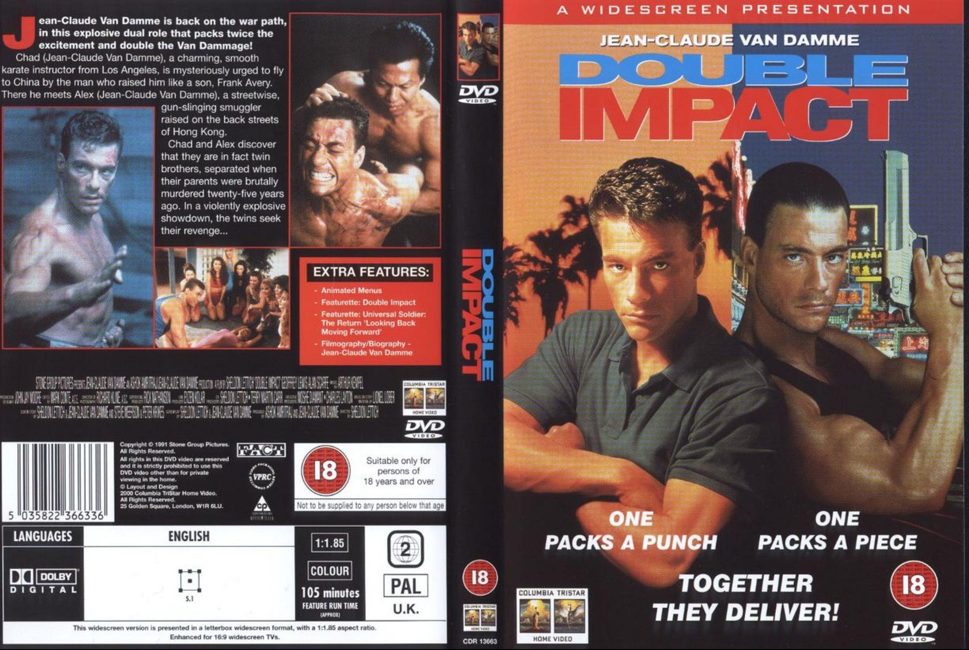 کاور فیلم ضربه دوجانبه 1991