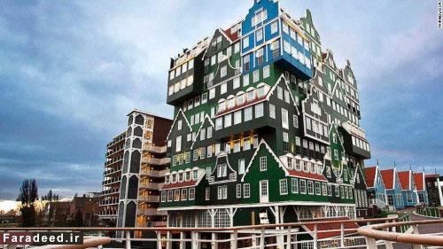 عجیب و غریبترین هتلهای جهان
