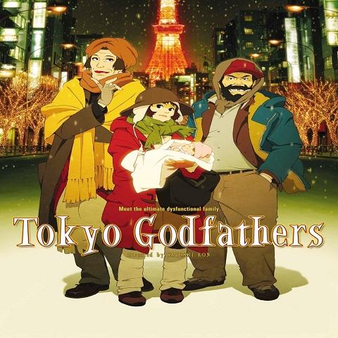 دانلود فیلم Tokyo Godfathers 2003 با دوبله فارسی