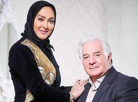 عکس جالب از الهام حميدي در کنار پدرش