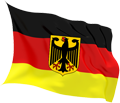 پرچم کشور آلمان غربی