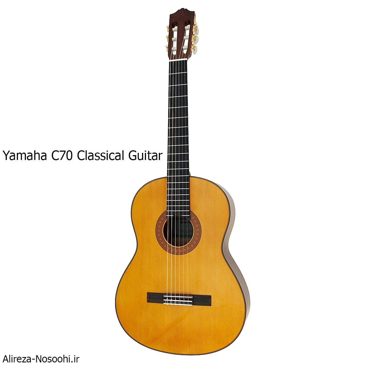مقایسه گیتار یاماها سی 70 و یاماها سی 40