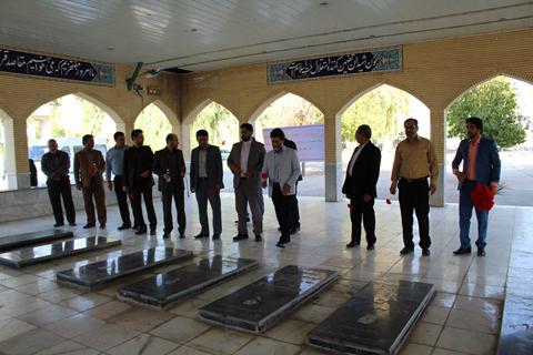 دیدار مدیرکل ارشاد فارس با خانواده شهید سید خدابخش موسوی