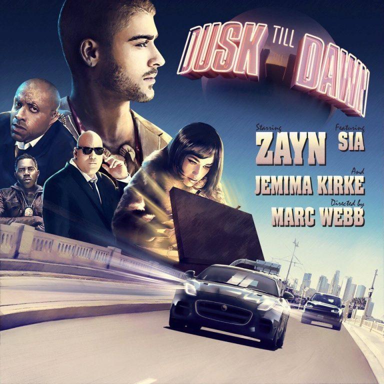 دانلود آهنگ جدید ZAYN و Sia به نام Dusk Till Dawn
