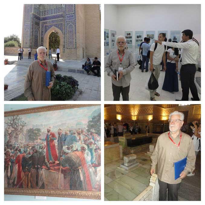 سفر علمی دکتر حسین محمدزاده صدیق به اوزبکستان