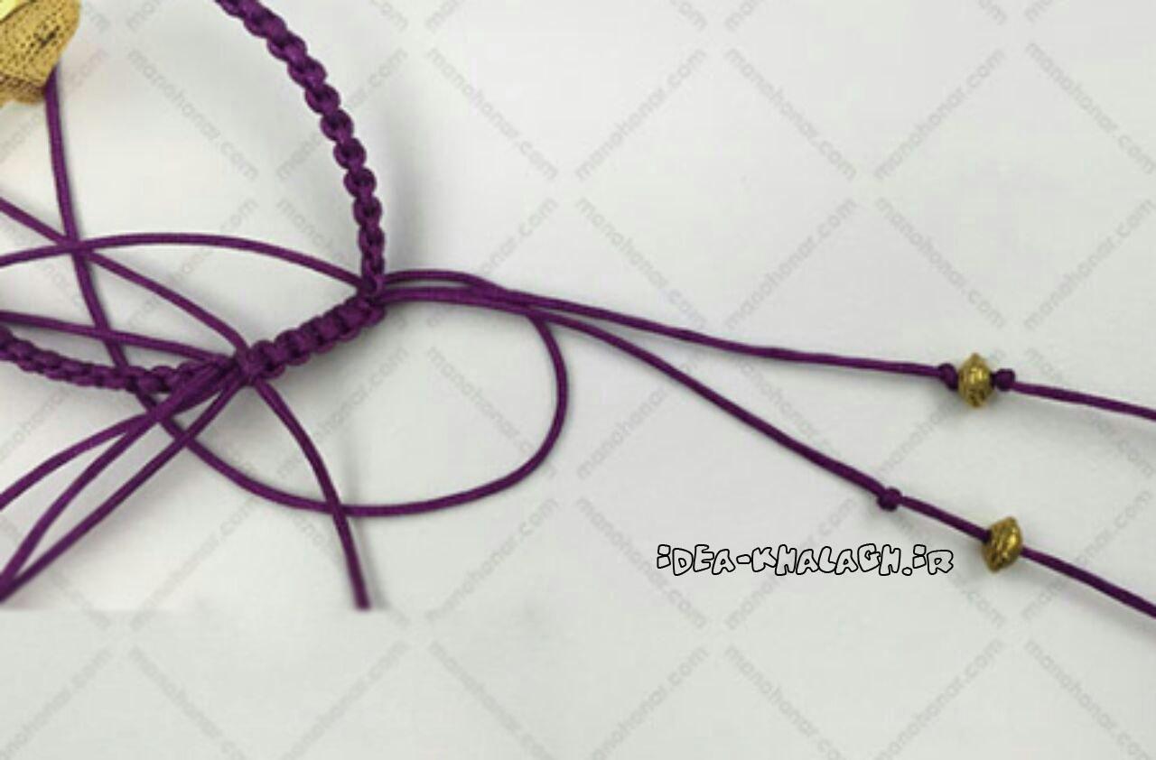اموزش گردنبند چوکر تتو وسایل مورد نیاز آموزش بافت دستبند با مهره - سایت عکس.