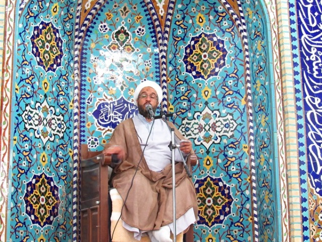 مراسم  بزرگداشت عید غدیر  در محله صادقیون رفسنجان برگزار شد