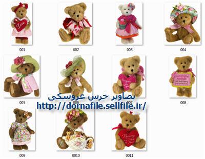 خرس عروسکی , عروسک خرسی , عکس عروسک, عروسک با کیفیت بالا