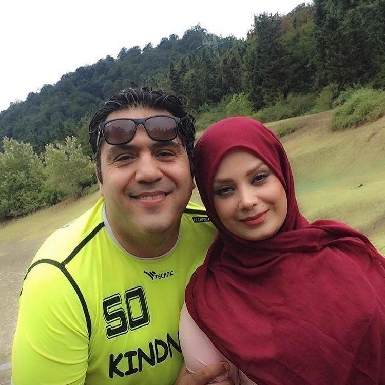 عکس صبا راد و همسرش مانی رهنما