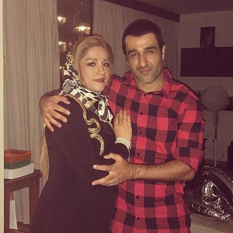 عکس جدید پژمان جمشیدی با خواهرش