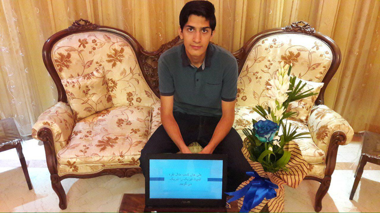 کسب مدال نقره المپیاد فیزیک توسط آقای علی ممقانی قاضیجهانی