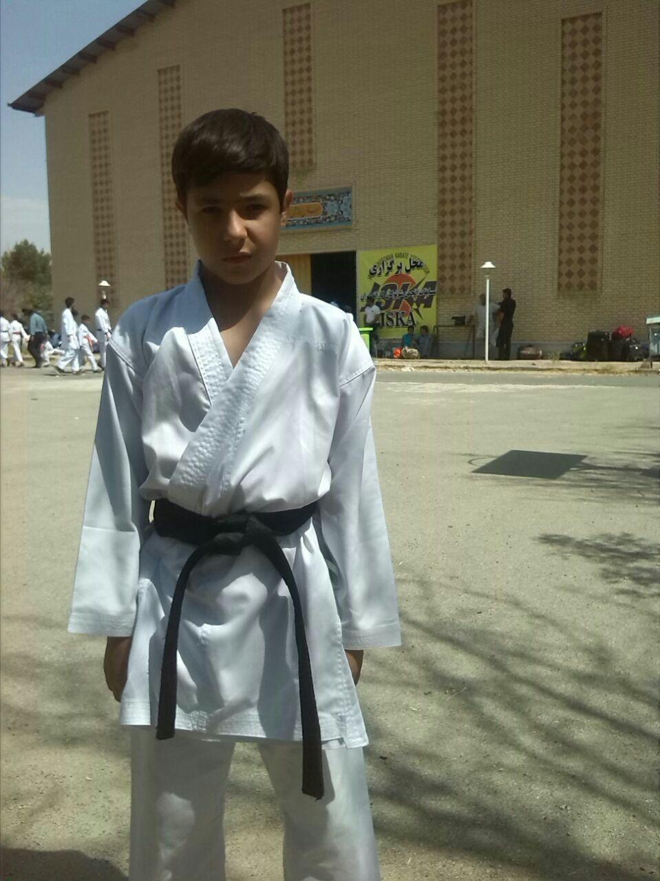 کسب مدال نقره مسابقات قهرمانی کاراته کشور توسط امیرحسین غفاری قاضیجهانی