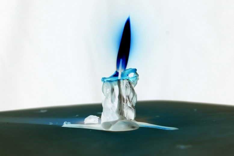 اینورت شمع
