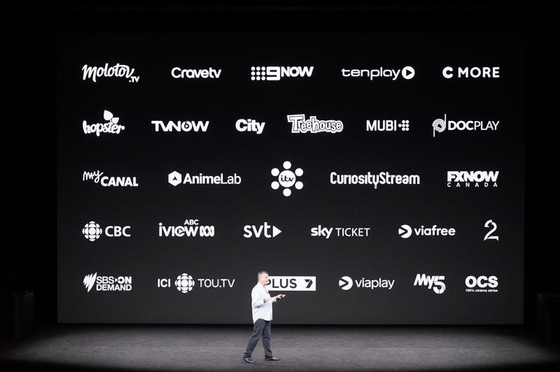 رونمایی از اپل تی وی