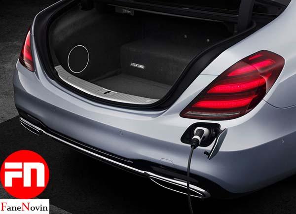 Mercedes S560e فن نوین fanenovin