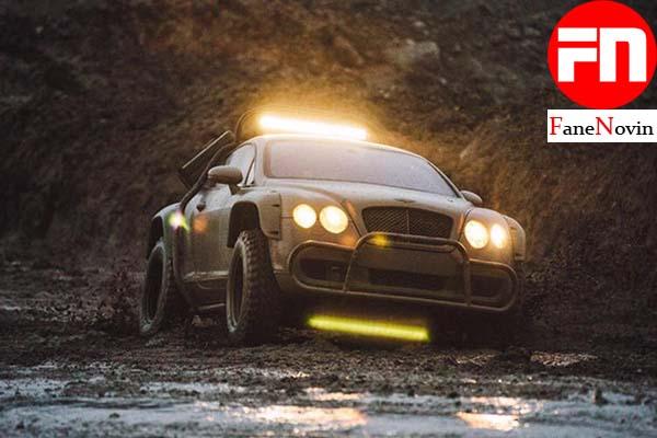 نسخهی رالی بنتلی کنتیننتال GT، معرفی شد  فن نوین ماشین مسابقه ای