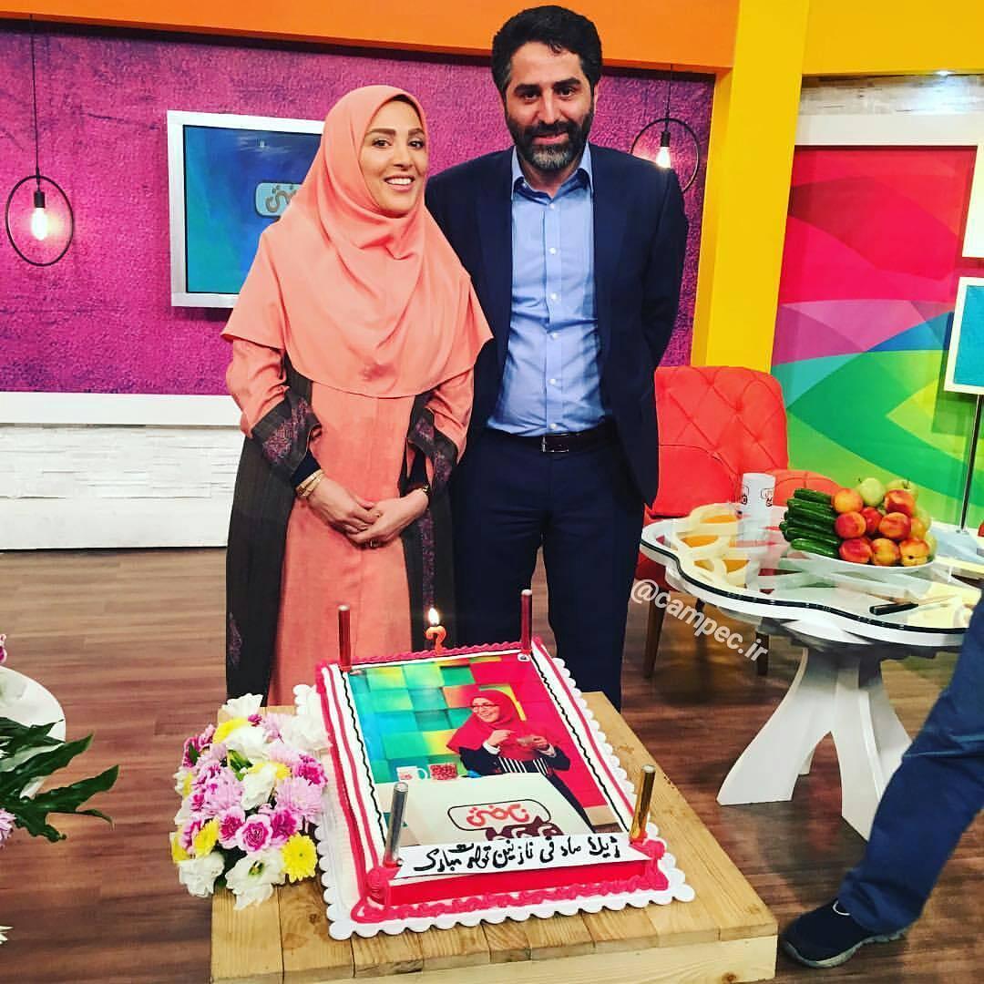 عکس جدید ژیلا صادقی با همسرش