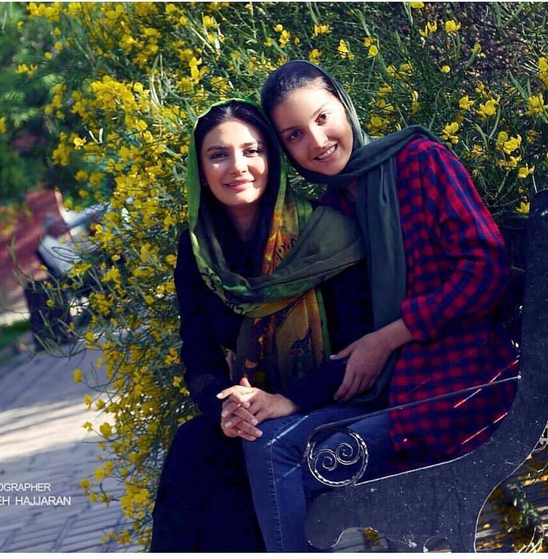 عکس جدید لیندا کیانی با برادرزاده اش