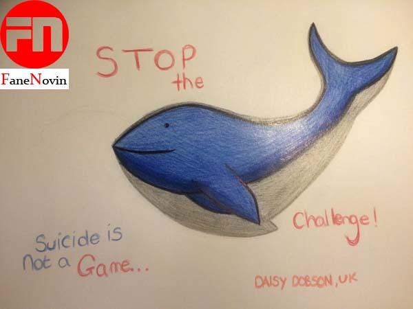 بازی نهنگ آبی فن نوین مراحل بازی نهنگ آبی خودکشی