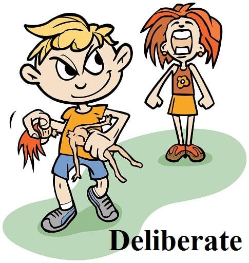 عمدی – Deliberate – آموزش لغات کتاب ۵٠۴ – English Vocabulary – کدینگ لغات ۵٠۴