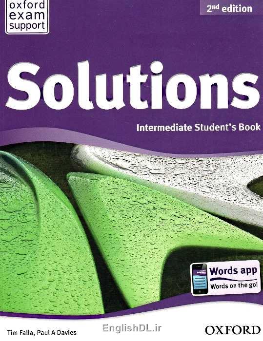 کتاب Solutions Intermediate ویرایش دوم