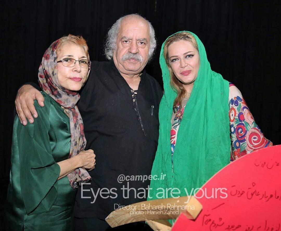عکس جدید بهاره رهنما با بهزاد فراهانی و همسرش