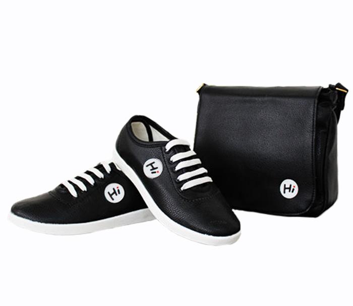 ست کیف و کفش Hi BLACK