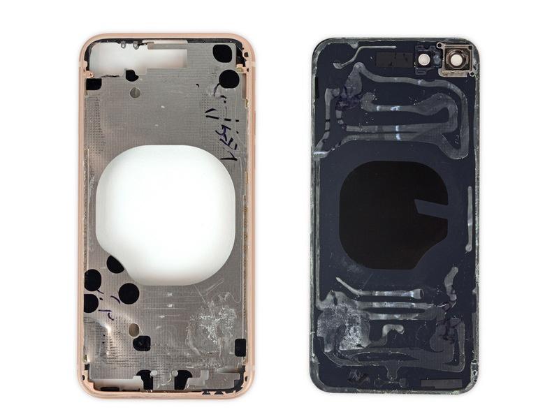 کالبدشکافی گوشی آیفون 8 اپل