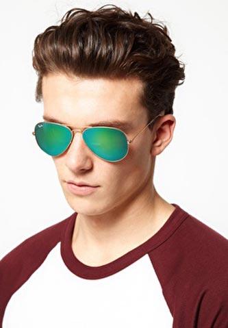 فروش عینک ریبن شیشه سبز