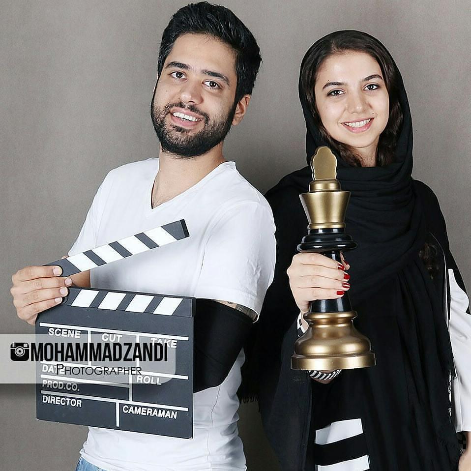 سارا خادم الشریعه و همسرش