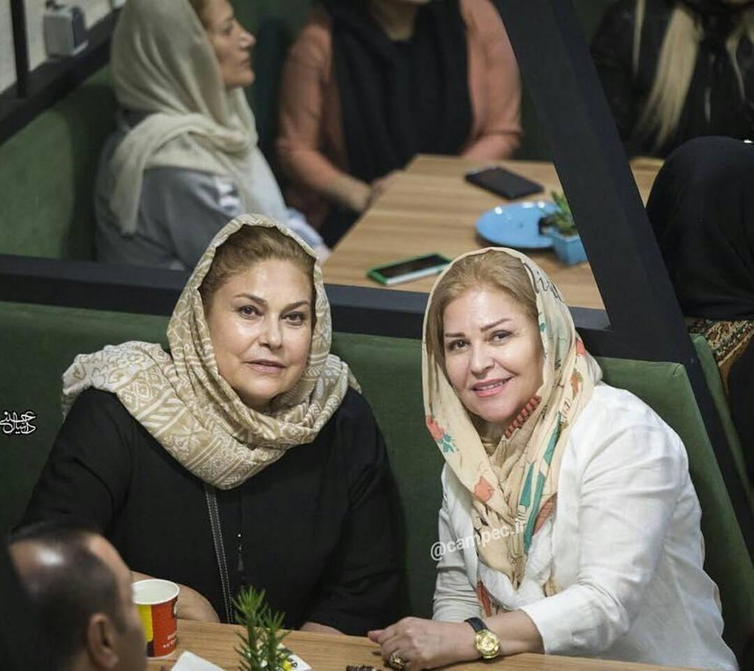 مهرانه مهین ترابی و اکرم محمدی