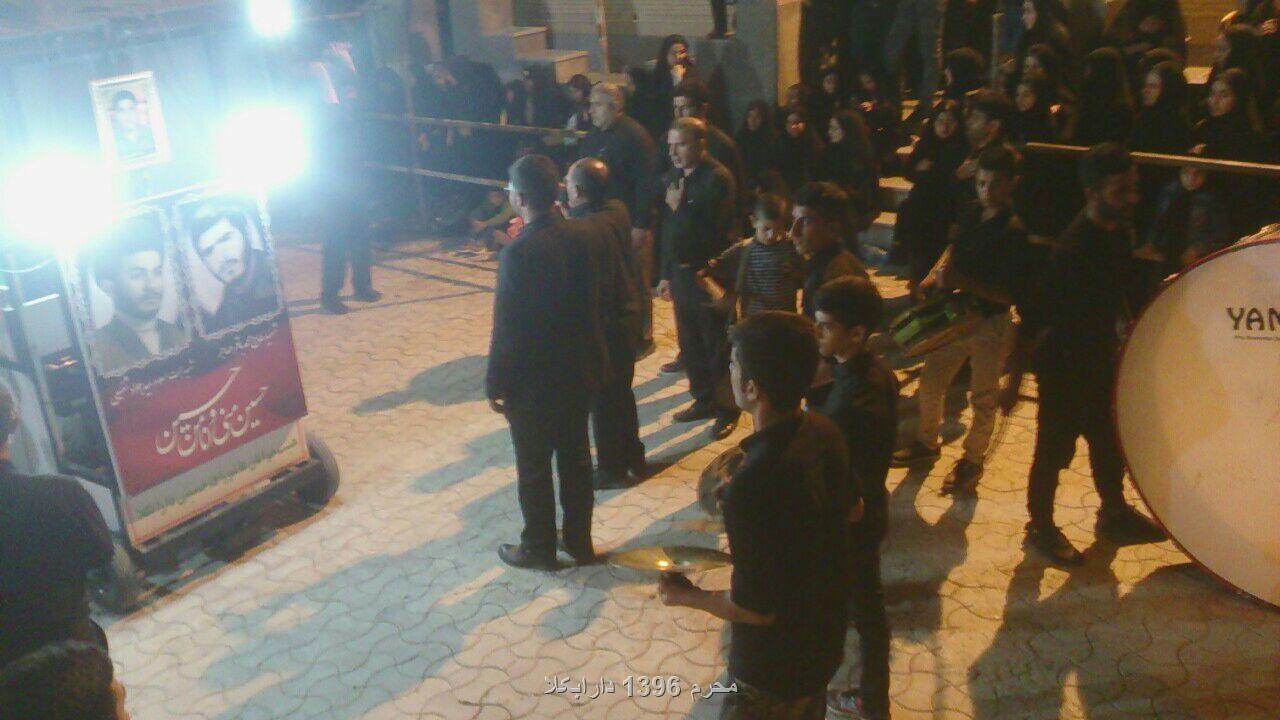 محرم 1396 دارابکلا. دسته روی هیأت ها در شب هشتم. عکاس: جناب یک دوست