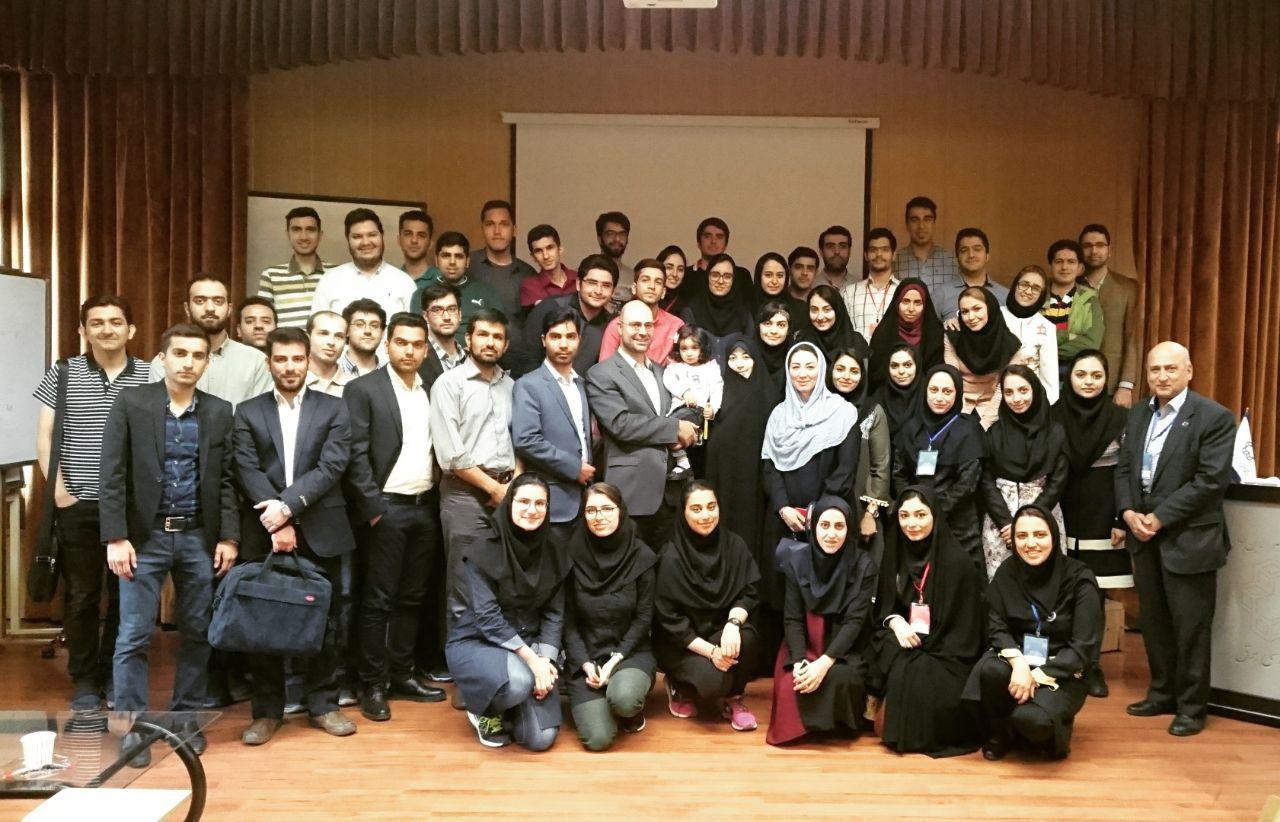 کارگاه آموزشی کارآفرینی چابک و Mind The Gap ، شاخه دانشجویی IEEE دانشگاه آزاد اسلامی واحد شهر مجلسی