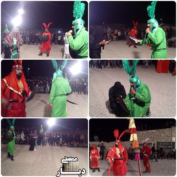 تصاویر مراسم عزاداری تاسوعا و عاشورای حسینی در ممسنی و رستم