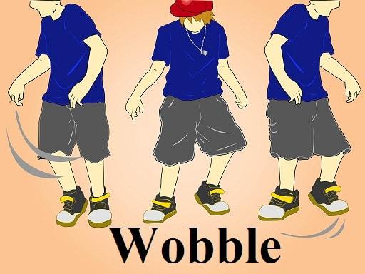 تلوتلو خوردن – Wobble – آموزش لغات کتاب ۵٠۴ – English Vocabulary – کدینگ لغات ۵٠۴