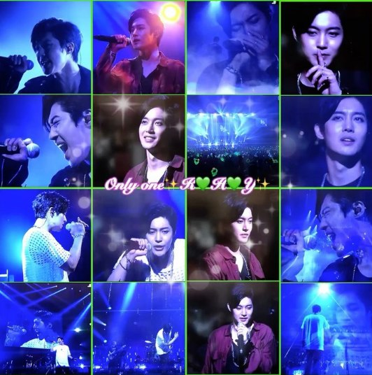 [Screencaps] DATV kim hyun joong Inner Core Japan Tour Concert cr Cheong阿晴 [2017.09.27]