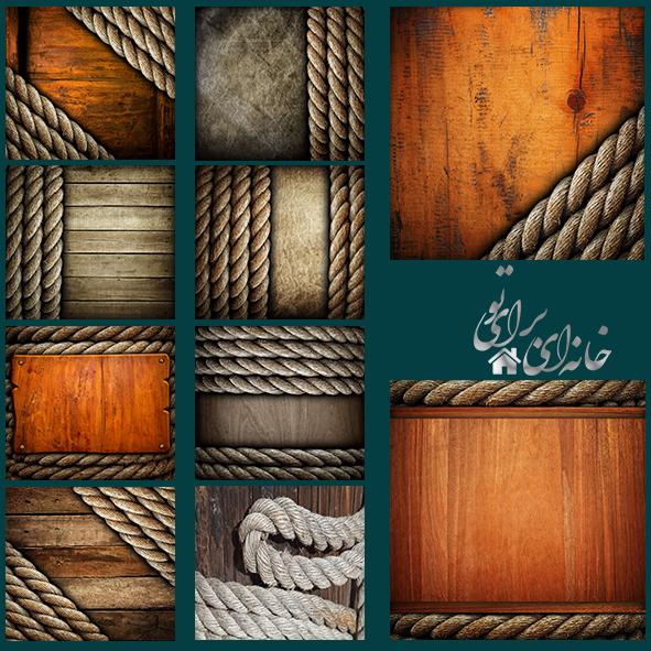 10بکگراند چوبی
