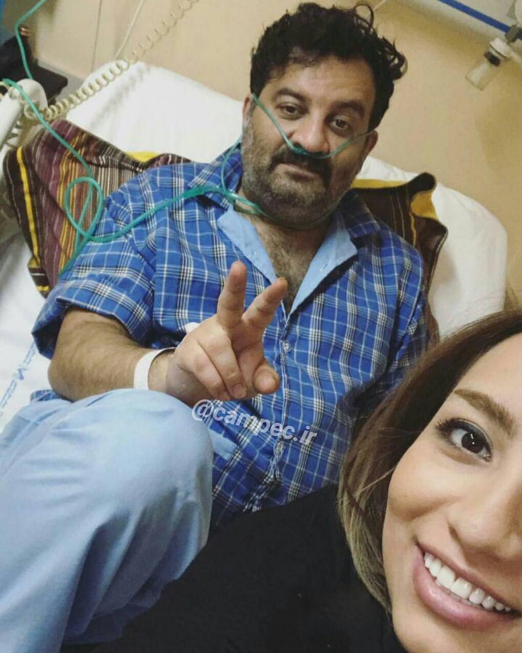 محراب قاسمخانی با دخترش نیروانا