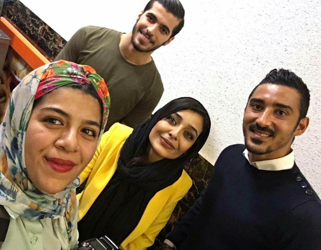 ساره بیات با رضا قوچان نژاد و سعید عزت الهی