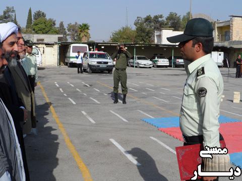 صبحگاه مشترک به مناسبت هفته ی نیروی انتظامی در ممسنی
