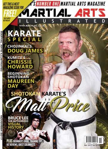 Martial Arts Illustrated November 2017