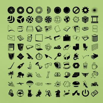 100شیپ انواع چیز های مختلف