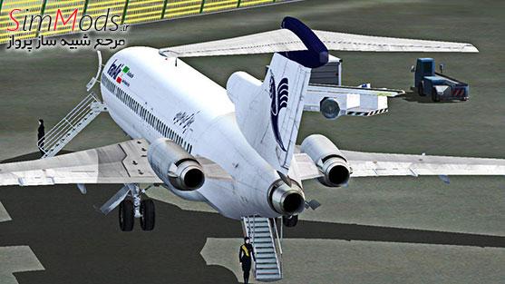 بازنقش ایران ایر CS 727