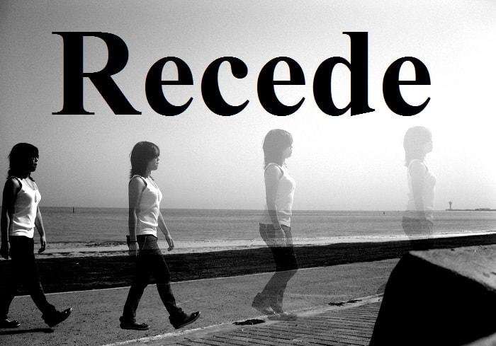 عقب کشیدن – Recede – آموزش لغات کتاب ۵٠۴ – English Vocabulary – کدینگ لغات ۵٠۴