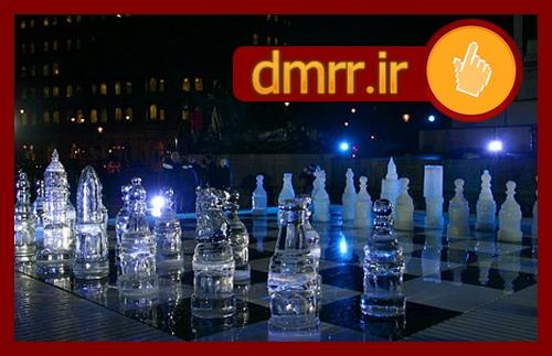 خرید اینترنتی پستی مهره شطرنج شیشه ای