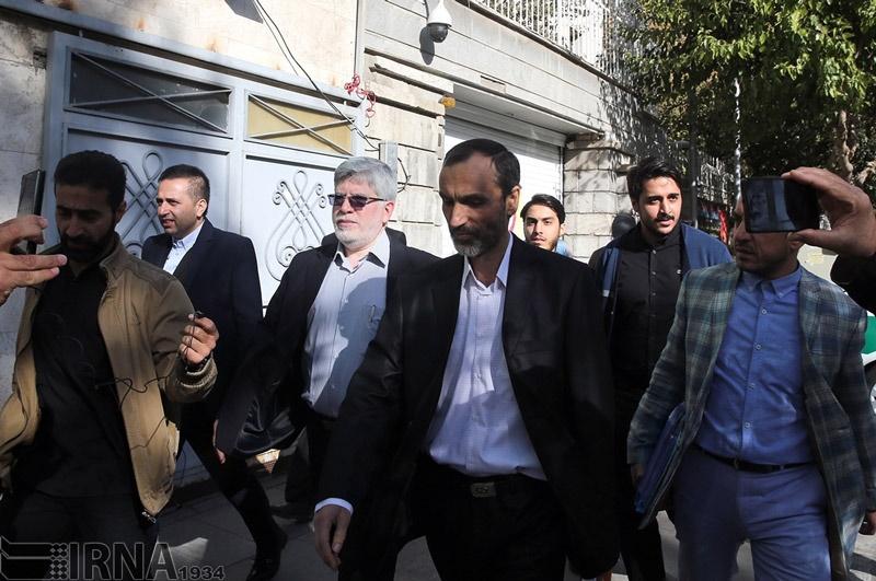 حواشی حضور حمید بقایی در دادگاه