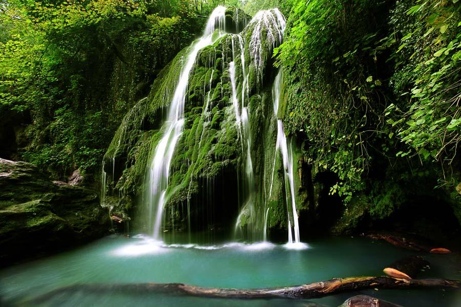 آبشار کبودال + دیدنی های ایران + ایران گردی