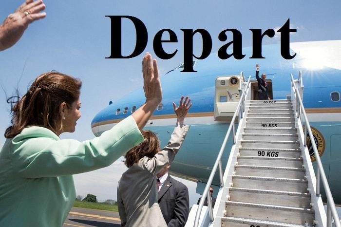 ترک کردن – Depart – آموزش لغات کتاب ۵٠۴ – English Vocabulary – کدینگ لغات ۵٠۴