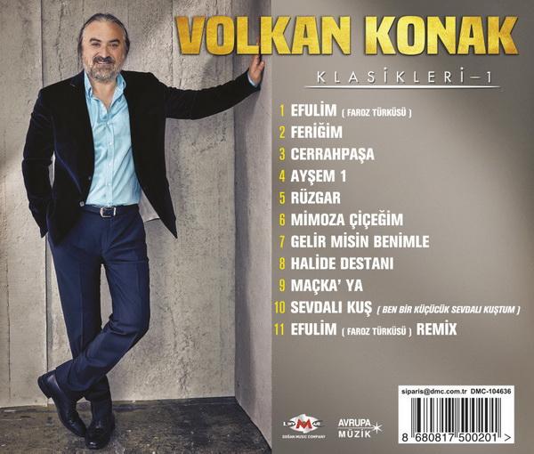 Volkan Konak - Klasikleri 1 [2017] Albüm (320 Kbps)